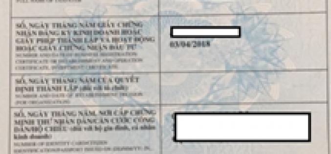 Đăng ký mã số thuế cho hộ kinh doanh cá thể