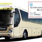 Điều kiện kinh doanh vận tải khách du lịch bằng xe ô tô