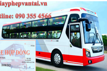 Điều kiện kinh doanh vận tải hành khách theo hợp đồng