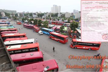Điều kiện kinh doanh vận tải hành khách theo tuyến cố định