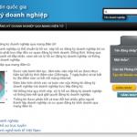 Hướng dẫn đăng ký thành lập doanh nghiệp qua mạng