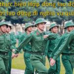 Hoãn thực hiện hợp đồng lao động do NLĐ đi thực hiện nghĩa vụ quân sự
