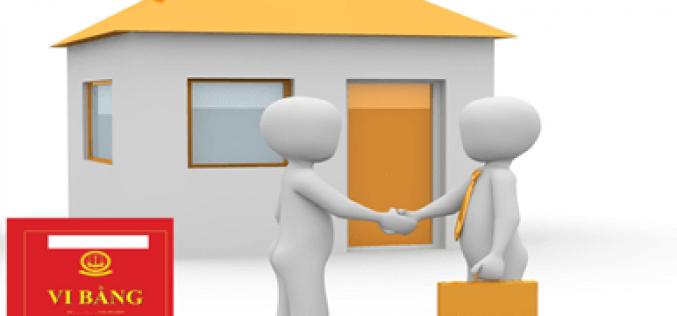 Rủi ro mua bán nhà đất qua vi bằng